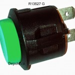Volcano Digit Replacement Switch Green
